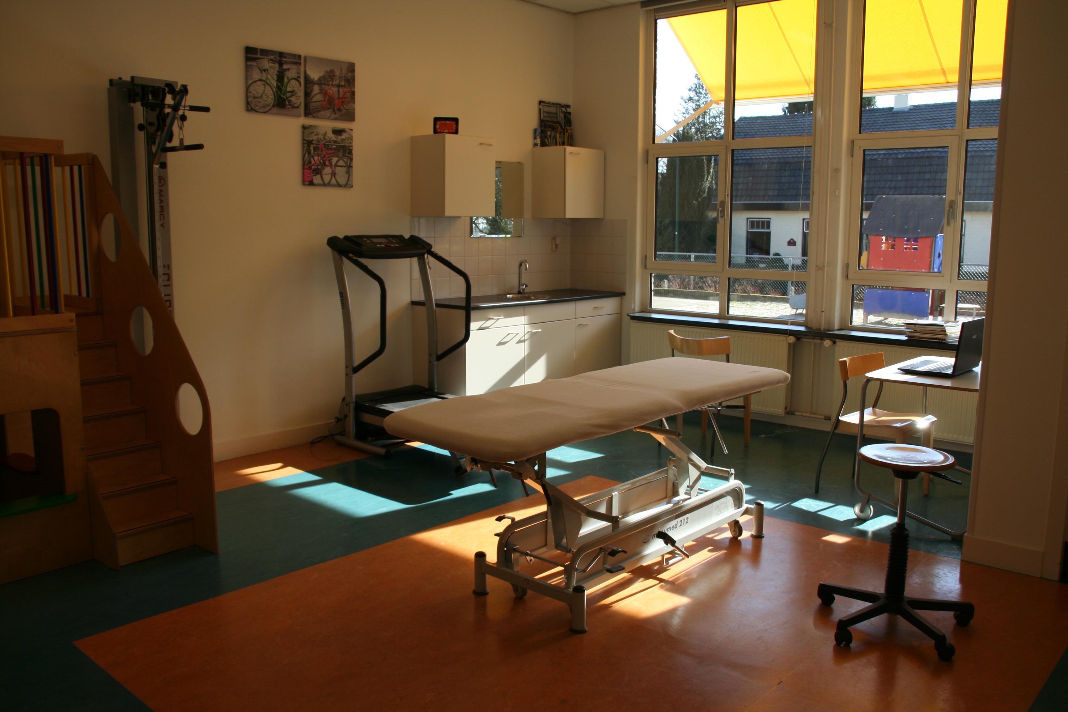 Fysiotherapie Theunissen Vestiging Vianen, behandelruimte